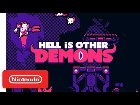 Релизный трейлер платформера Hell is Other Demons для Switch