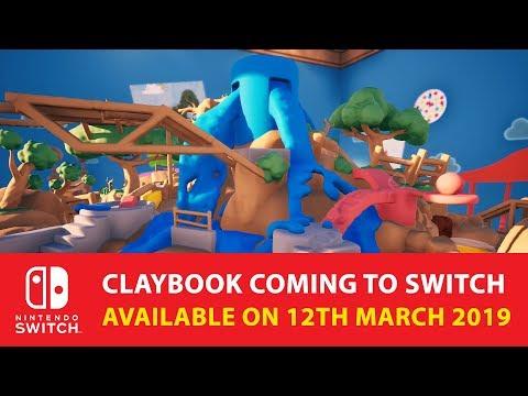 Творческая головоломка Claybook про создание целых миров из глины выйдет на Switch 12 марта