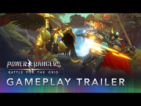Новый трейлер Power Rangers: Battle for the Grid