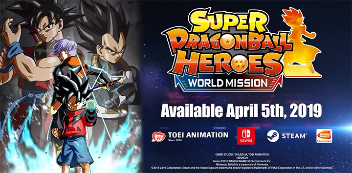 Релизный трейлер Super Dragon Ball Heroes: World Mission