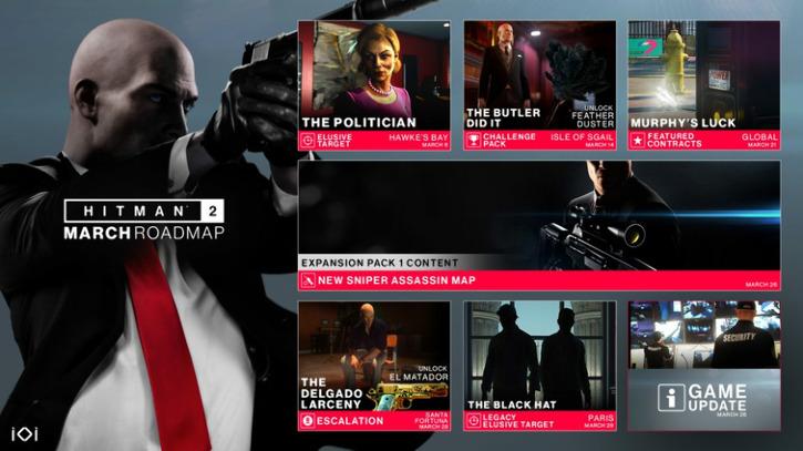 Представлена новая карта для режима Sniper Assassin в HITMAN 2