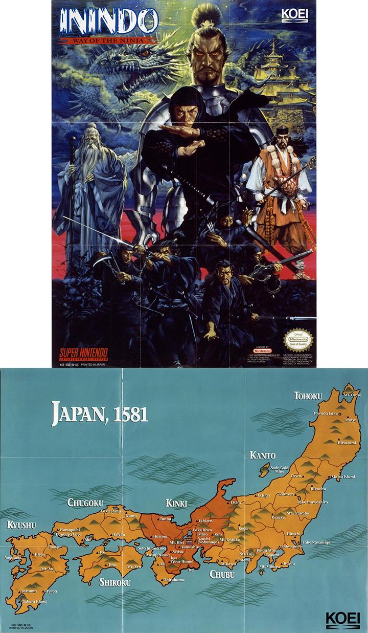 [Игровое эхо] 19 марта 1993 года — выход Inindo: Way of the Ninja для Super NES